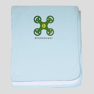 Droneosa;ur baby blanket
