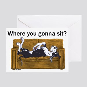 NMtl Where U Gonna Sit? Greeting Card
