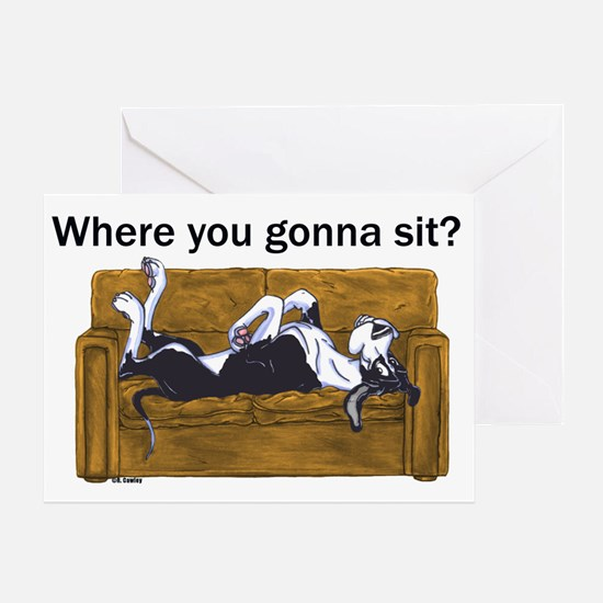 NMtl Where U Gonna Sit? Greeting Card