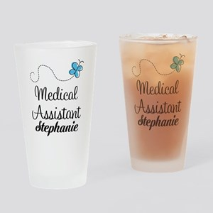 Medical Assistant Personalized Gift Drinking Glass