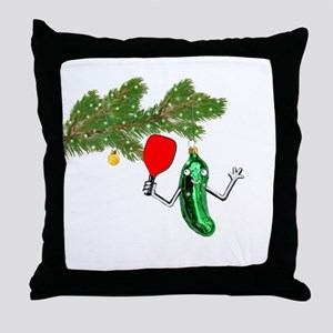 PICKLEBALL HOLIDAY GIFTS Throw Pillow