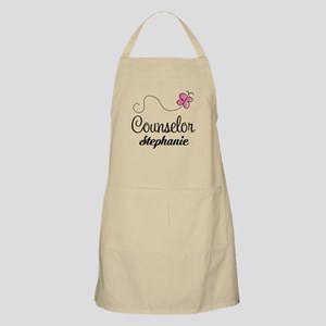 Personalized Counselor Gift Apron