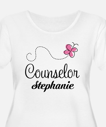 Personalized Counselor Gift Plus Size T-Shirt