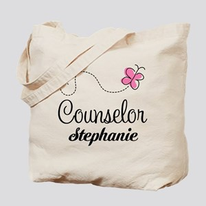 Personalized Counselor Gift Tote Bag