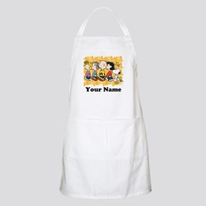Peanuts Walking Personalized Apron