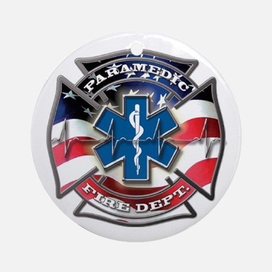 Unique Paramedic Round Ornament