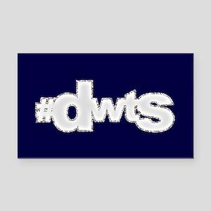 Glitter #DWTS Rectangle Car Magnet