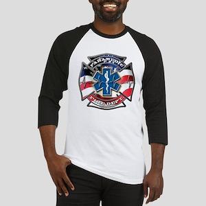 American Flag Paramedic, Maltese & Baseball Jersey