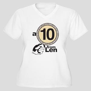 DWTS Mirror Ball Women's Plus Size V-Neck T-Shirt