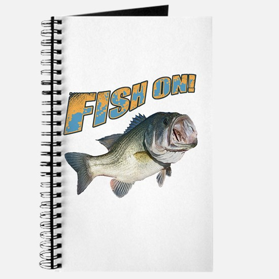 Fish on Bass color Journal