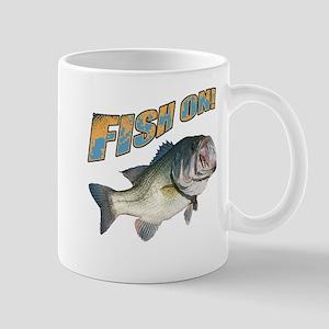 Fish on Bass color Mug