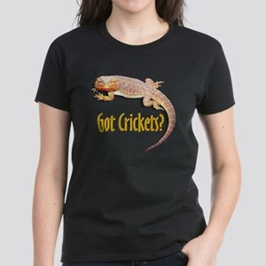 Bearded Dragon 2 Got Crickets Black T-Shirt