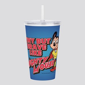 Tiny But Brave Acrylic Double-wall Tumbler