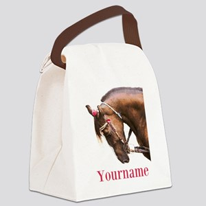 Horse (p) Canvas Lunch Bag
