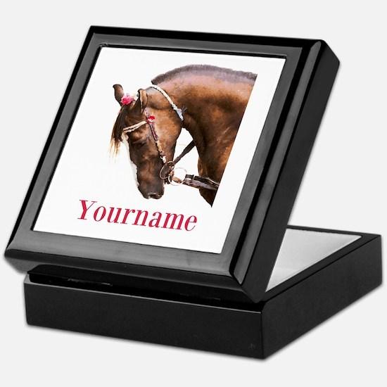 Horse (p) Keepsake Box