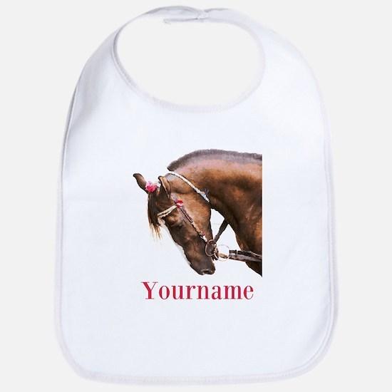 Horse (p) Baby Bib