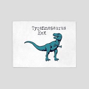 Tyrannosaurus Rex 5'x7'Area Rug