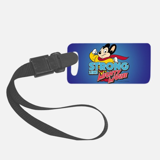 Strong Mighty Mouse Luggage Tag
