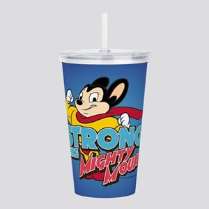 Strong Mighty Mouse Acrylic Double-wall Tumbler