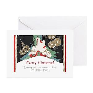 Vintage christmas greeting cards cafepress m4hsunfo