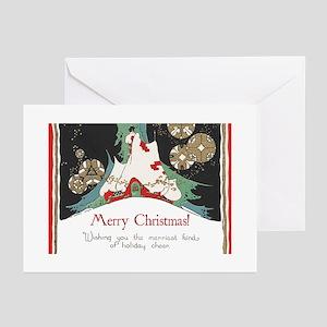 Vintage christmas greeting cards cafepress nostalgic christmas greeting cards m4hsunfo