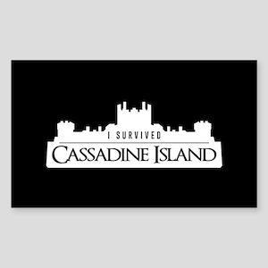 Cassadine Island Sticker (Rectangle)