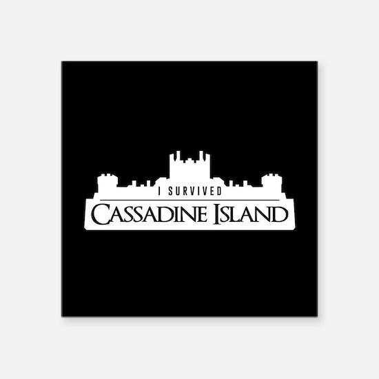 """Cassadine Island Square Sticker 3"""" x 3"""""""