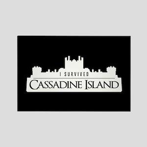 Cassadine Island Rectangle Magnet