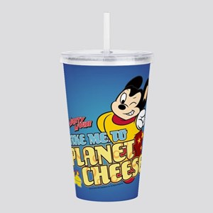 Take Me To Planet Chee Acrylic Double-wall Tumbler