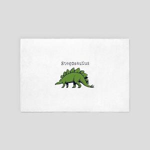 Stegosaurus 4' x 6' Rug