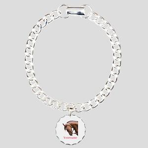 Horse (p) Bracelet Charm Bracelet, One Charm