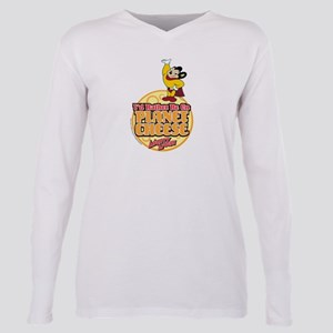 Rather Be on Planet Chee Plus Size Long Sleeve Tee