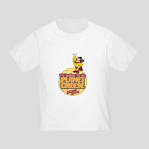 Rather Be on Planet Cheese Toddler T-Shirt