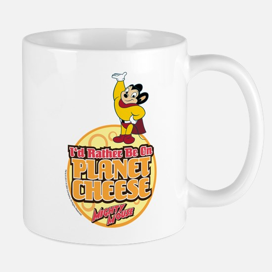 Rather Be on Planet Cheese Mug
