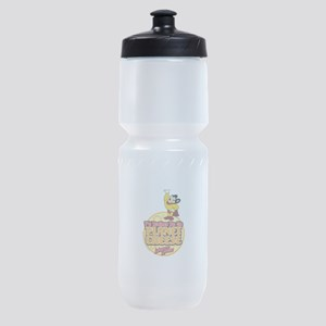 Rather Be on Planet Cheese Sports Bottle