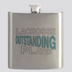Lacrosse Outstanding Player Flask