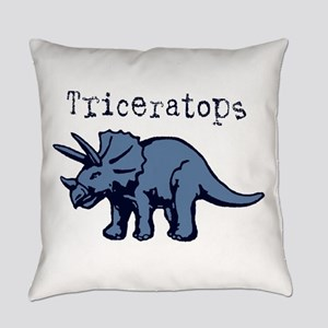 Triceratops Everyday Pillow