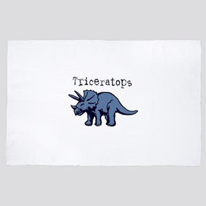 Triceratops 4' x 6' Rug
