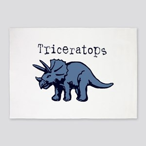 Triceratops 5'x7'Area Rug