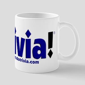 Lets Do Trivia Logo FULL 3d Mugs