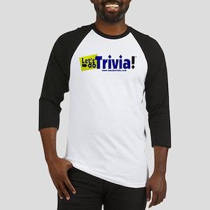Lets Do Trivia Logo FULL 3d Baseball Jersey