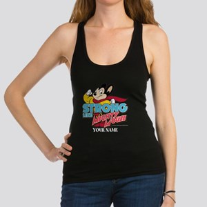 Mighty Mouse Personalized Racerback Tank Top