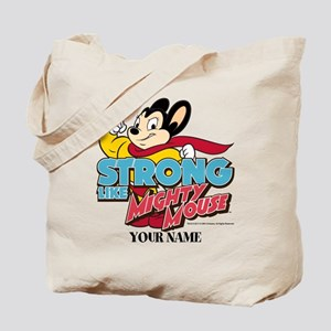 Mighty Mouse Personalized Tote Bag