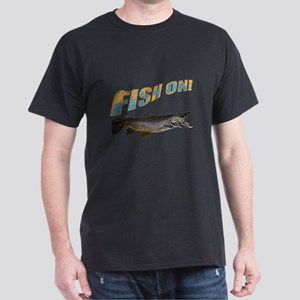 Fish on Brown Trout color Dark T-Shirt