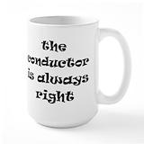 Conductors Large Mugs (15 oz)