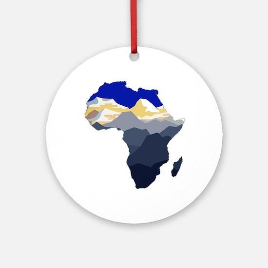 AFRICA Round Ornament