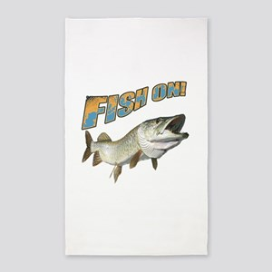 Fish on Musky color Area Rug