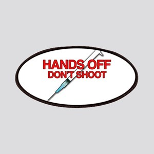 Hands off, Don't shoot Patch