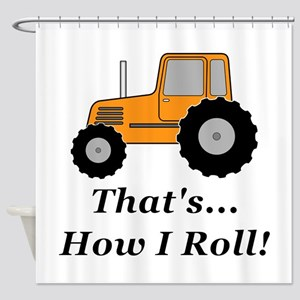 Tractor How I Roll Shower Curtain