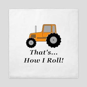 Tractor How I Roll Queen Duvet